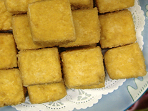 Deep Fried Tofu (L)