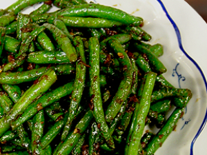 dry sauteed green bean