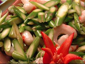 Shrimp w/ Asparagus