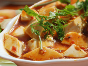 Szechuan Style Tofu (L)